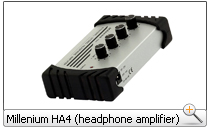 Millenium HA4 (headphone amplifier)