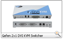 Gefen 2x1 DVI KVM Switcher