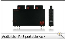 Audio Ltd. RK3 portable rack (3-fach)